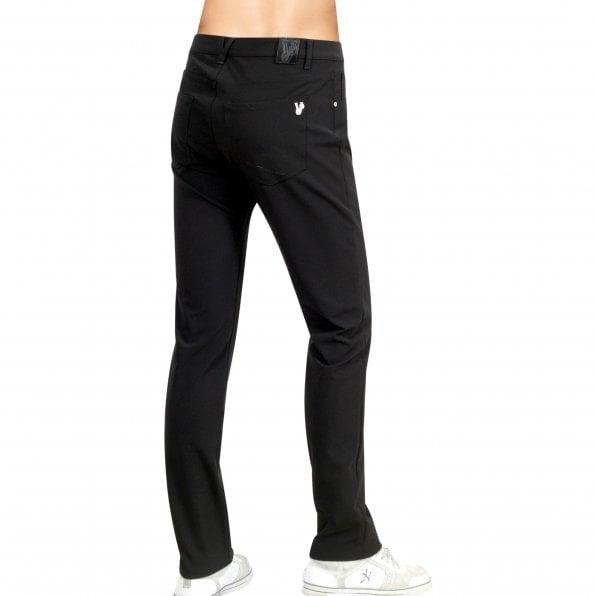 VERSACE JEANS Slim Fit Mens Stretch Black Jeans