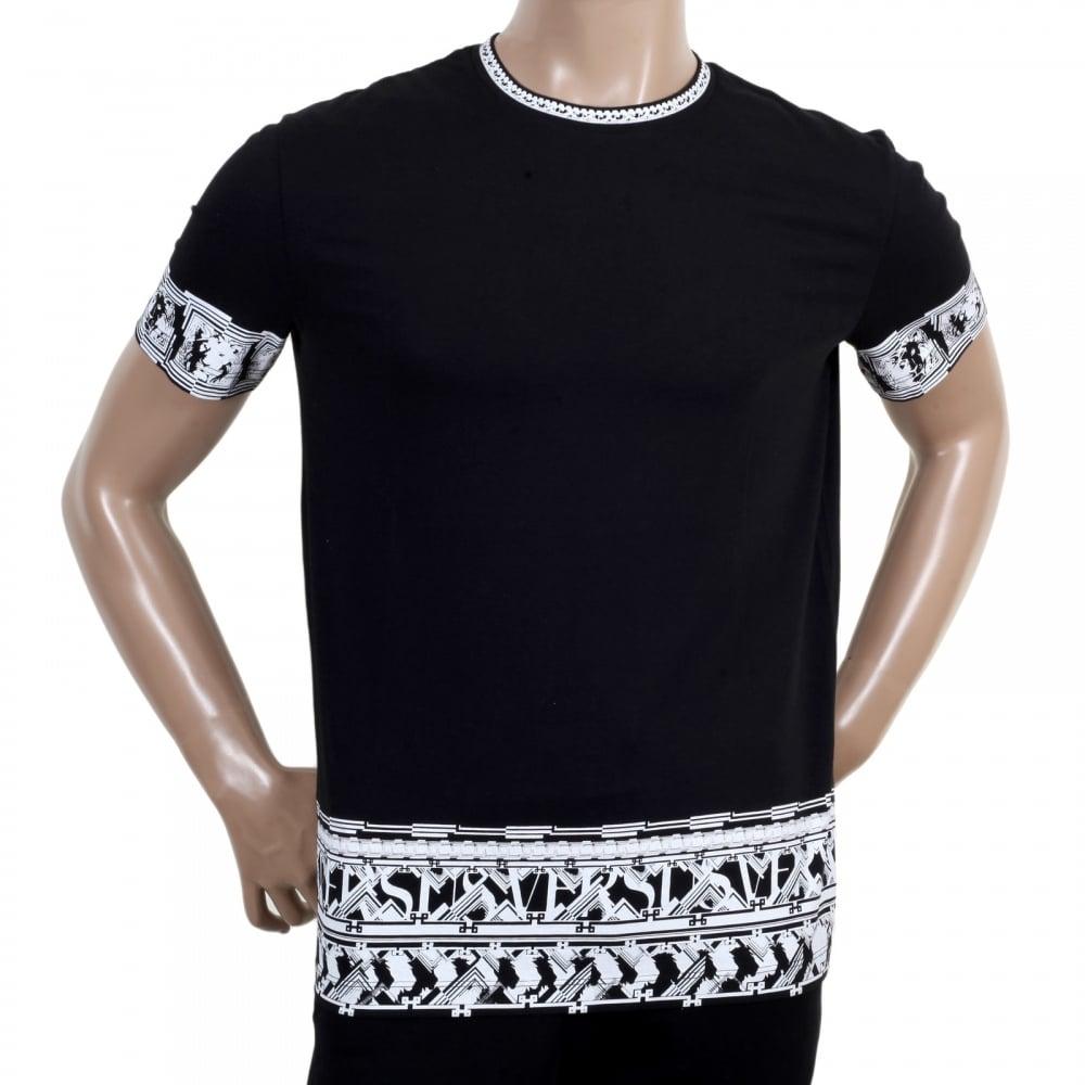 Mens Black Versace Shirt