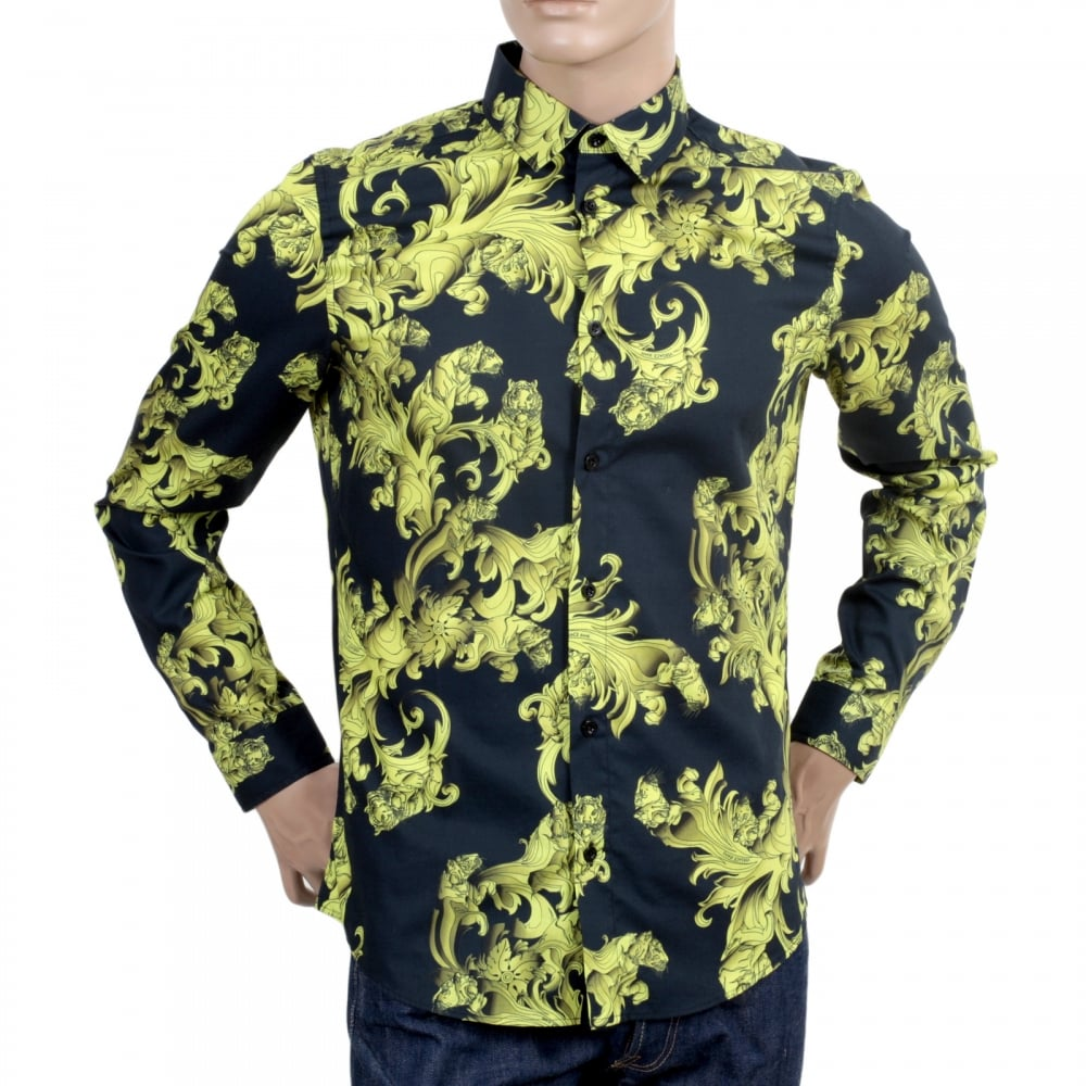 Yellow Mens Polo Shirt