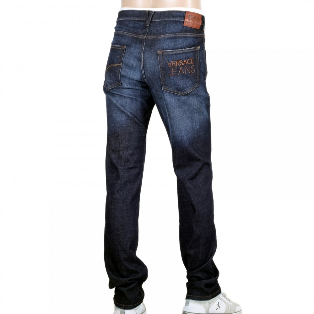 Magnificent Stretch Jeans by Versace for Men
