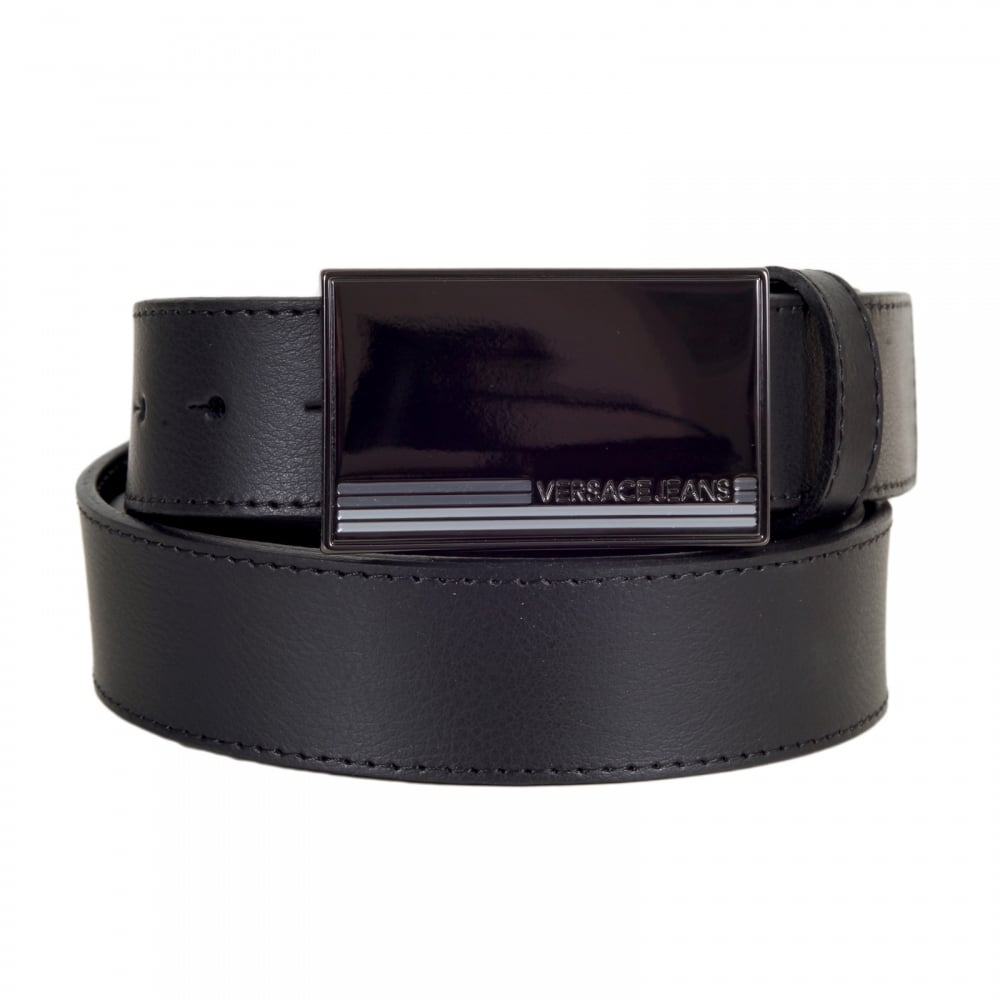 Stylish Mens Designer Leather Belts by Versace Jeans