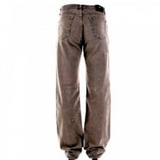 Washed Taupe, Slim Fit, Distressed Denim Jeans