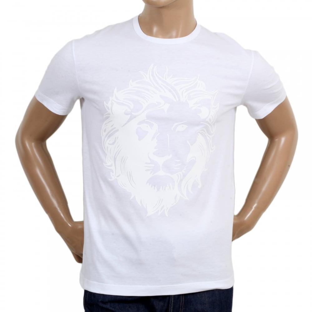 mens white versace t shirt