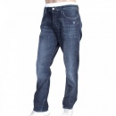 VIVIENNE WESTWOOD Mens Blue Stretch Low Crotch Denim