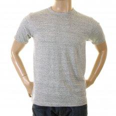 Marl Grey Regular Fit Short Sleeve Crew Neck Loopwheeled T Shirt WV73544