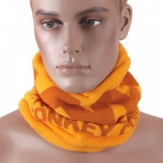 Yellow Fleece Neck Warmer Snood