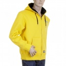 RMC MKWS Yellow Hooded Zipped Regular Fit Sweatshirt