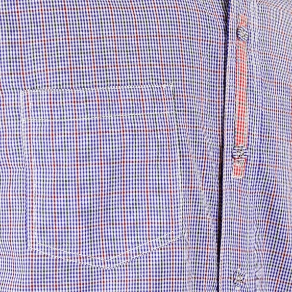 YOROPIKO Blue Check shirt