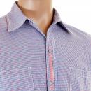 YOROPIKO Blue Check shirt