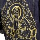 YOROPIKO Embroidered Fudoumyouou denim jacket