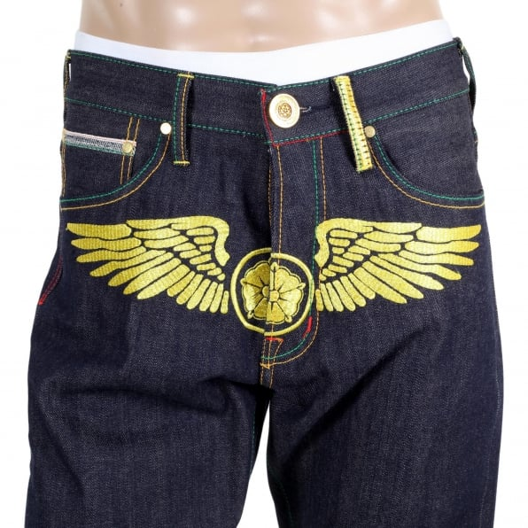 YOROPIKO Fly Denim Jean
