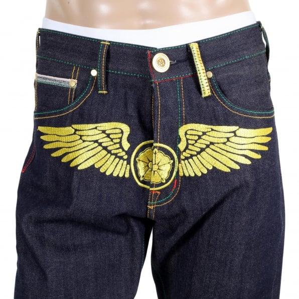 YOROPIKO Fly Denim Jean