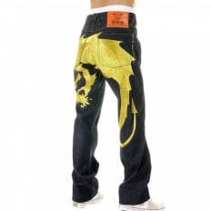 Hungry Dragon Gold Jean