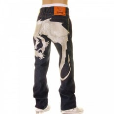 Hungry Dragon Silver Jeans