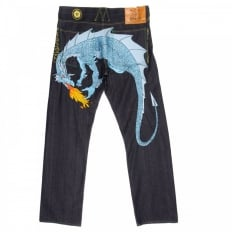 Hungry Dragon Sky blue Jeans