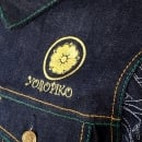YOROPIKO Jay Z Embroidered Denim Jacket