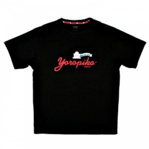 YOROPIKO Kennex Fund Black T Shirt