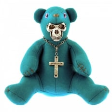 Limited Edition Teddy bear in teal blue colour
