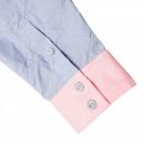 YOROPIKO Mens Long sleeve Shirt Blue