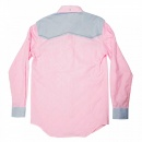 YOROPIKO Pink long sleeve shirt