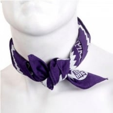 Printed Purple Bandana