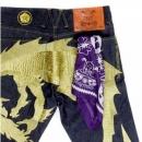 YOROPIKO Printed Purple Bandana