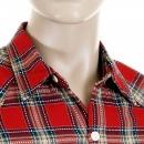 YOROPIKO Red Check Shirt