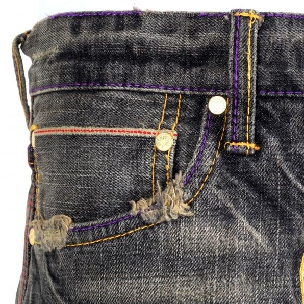YOROPIKO Rock Denim Jeans