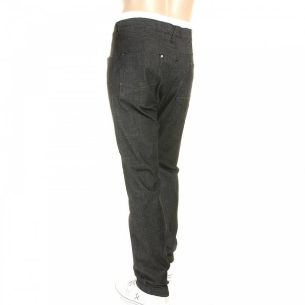 YOROPIKO Slim Stretch Black Jeans
