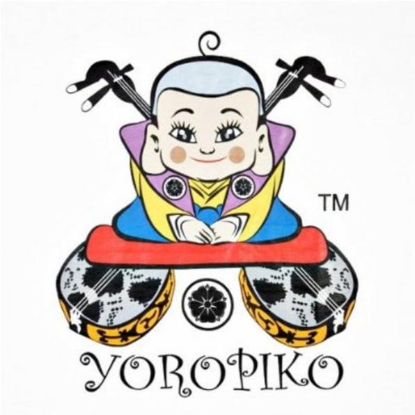 YOROPIKO White Logo t-shirt